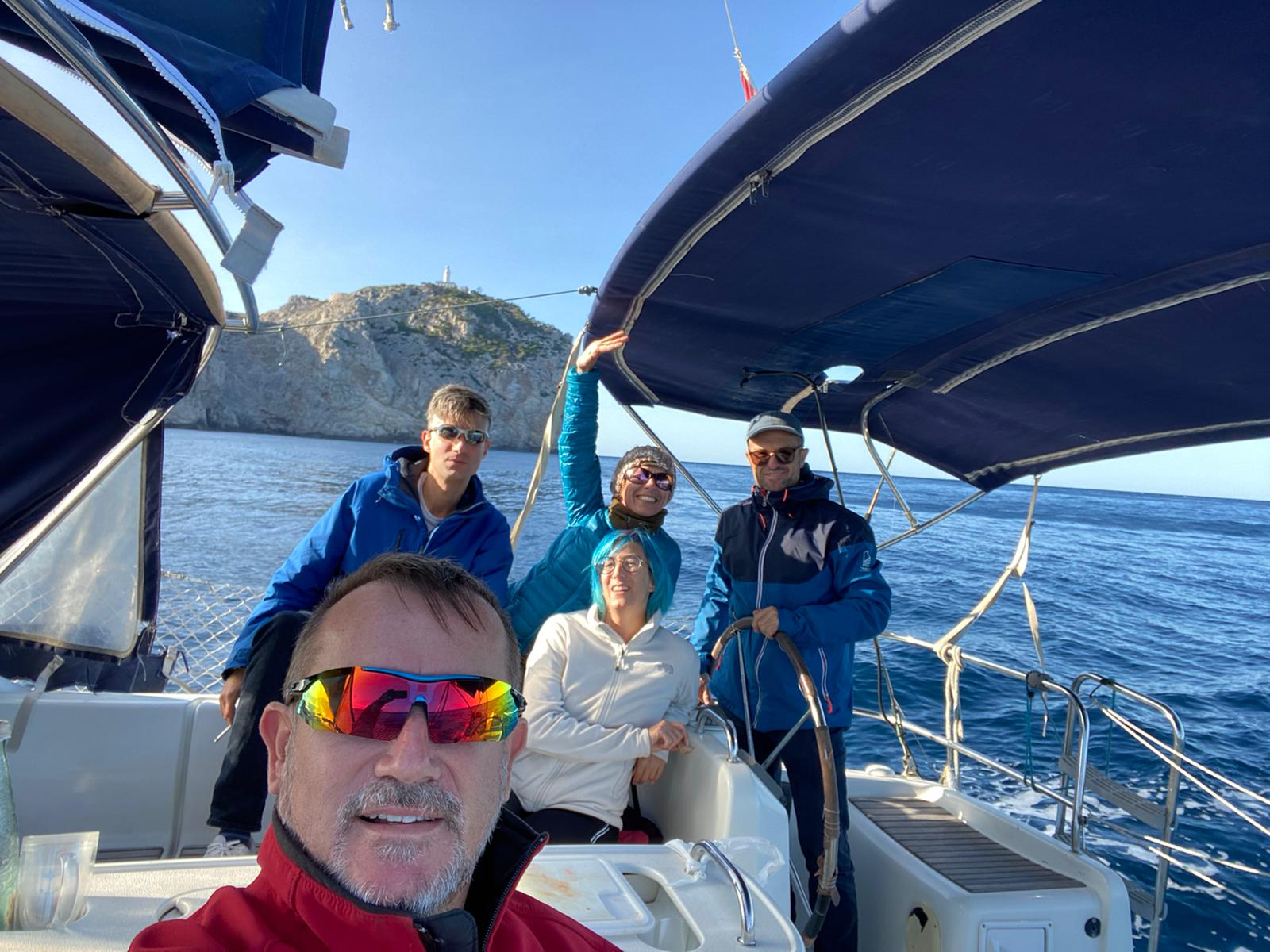 Salida de navegación de la comunidad Naveguem mes