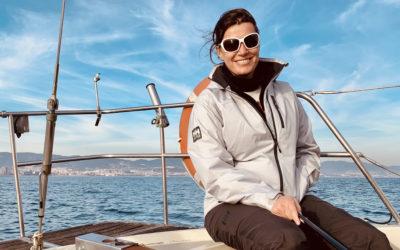 """Marta del Rey: """"Vale la pena si quieres aprender a navegar"""""""