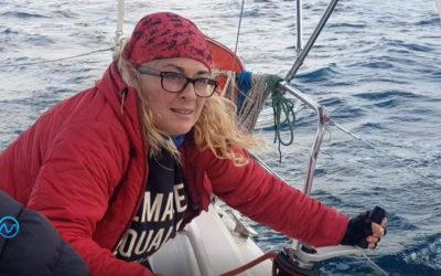 """Pilar López: """"Una cosa es saber navegar y otra es saber navegar a vela"""""""